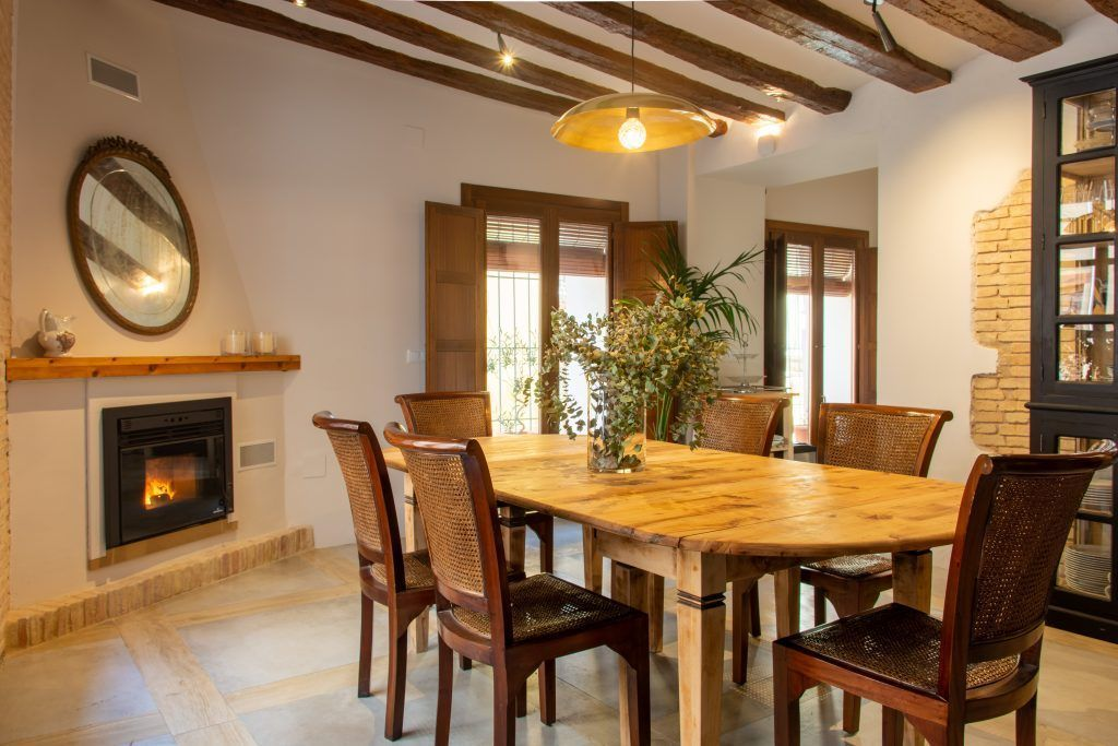 DINNING ROOM and breakfast Los Canilleros